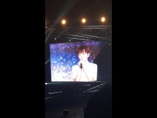 170807 Приветствие Джисона на премьерном шоуконе Wanna One