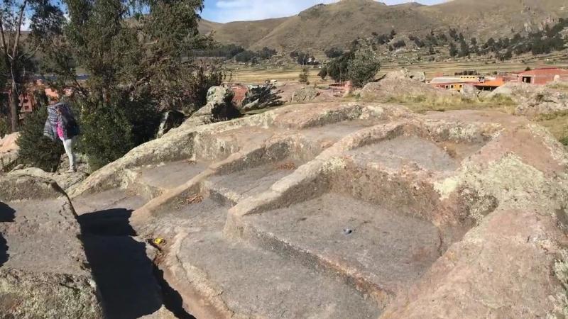 видео Brien Foerster - ..  Мегалитические останки находятся в Копакабане в Боливии, недалеко от берега озера Титикака ...