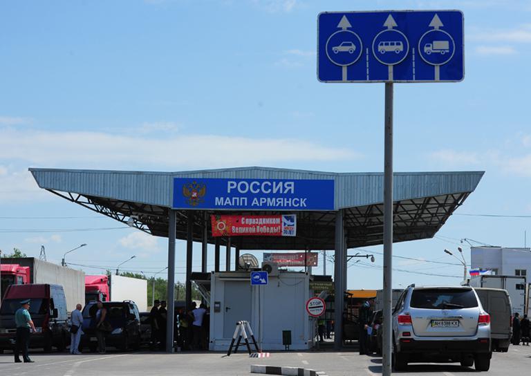 Житель Херсона незаконно попал в Крым