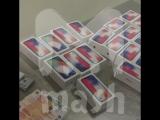 В аэропорту  Шереметьево задержали партию новых iPhone Х из Дубая