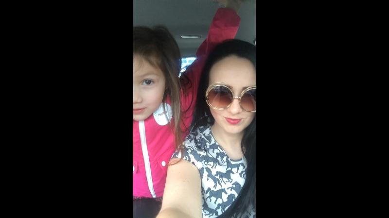 С дочей 😍