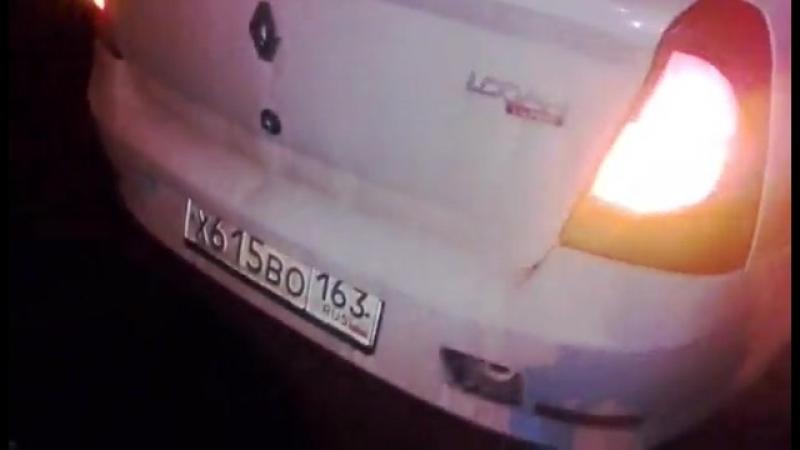 Самара ПЬЯНЫЙ водитель такси совершил ДТП