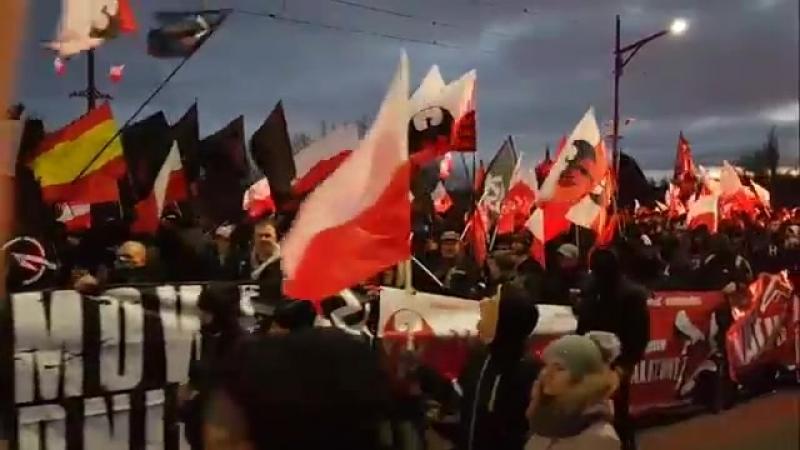 Marsz Niepodległości 2017 ( Czarny blok)