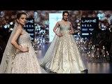 Kangana Ranaut Walks For Shyamal and Bhumika SpringSummer 2018 Lakme Fashion Week