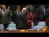 Поцелуи перед полемикой: как Небензя и Хейли приветствовали друг друга в ООН