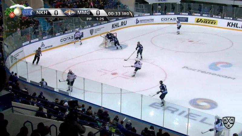Моменты из матчей КХЛ сезона 17 18 • Гол 0 1 Коварж Ян Металлург Мг влетел с шайбой в ворота 05 01