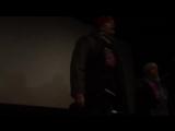 Москва, 10 декабря, 2017 Бывшие ополченцы и неравнодушные люди сорвали в Москве показ фильма о нацистах батальона