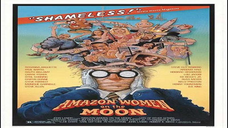 1987 Russ Meyer Dante Landis Donne Amazzoni Sulla Luna