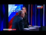 Жириновский обматерил Собчак, за что получил водой в лицо