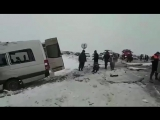 В Ставропольском крае 13 человек пострадали и двое погибли в ДТП с маршруткой