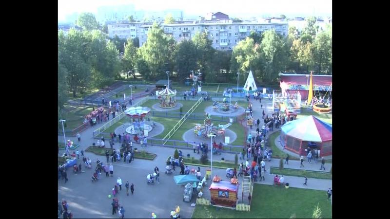 После полудня в честь Дня Города открылось сразу несколько культурно-развлекательных площадок.