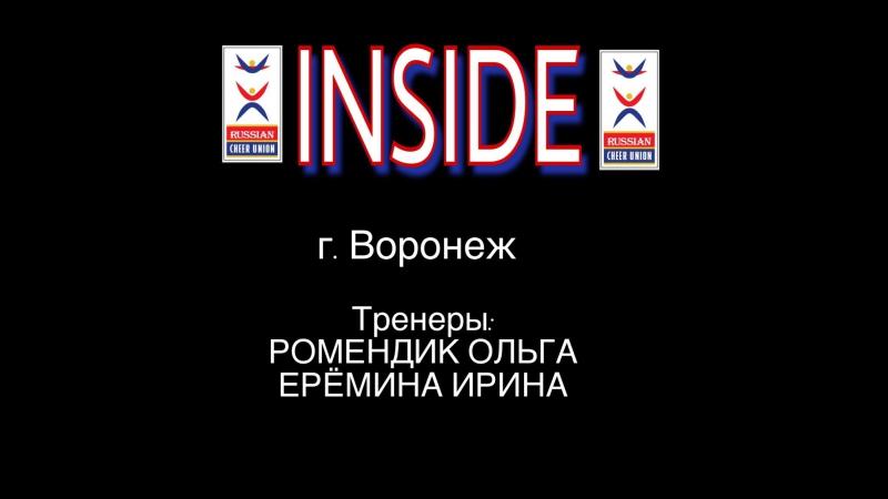 Russian National Cheerleading Team Inside Voronezh 🇷🇺
