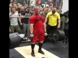 Дэн Грин - тяга 408 кг