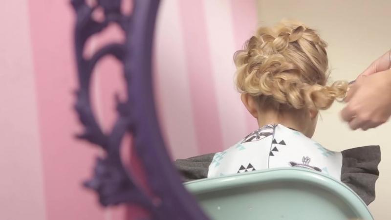 ❤ 3 красивые прически для девочки_ БАНТ из волос, КОСА Цветок, ВОЛОСЫ-ОБРУЧ _ Family is