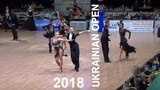 2018 Ukrainian Open | Youth 1 Latin 1/2 Final H2 Cha cha | Bonkovskyy & Vursalova