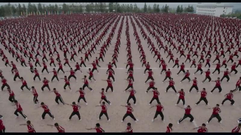 Более 36 тысяч учеников: как живёт самая большая школа боевых искусств Китая? [Рифмы и Панчи]