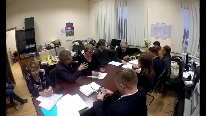 Итоговое заседание ТИК № 3 СПб 19 марта 2018 года в 6:00
