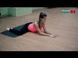 Как легко сесть на шпагат  Упражнения на растяжку бедра