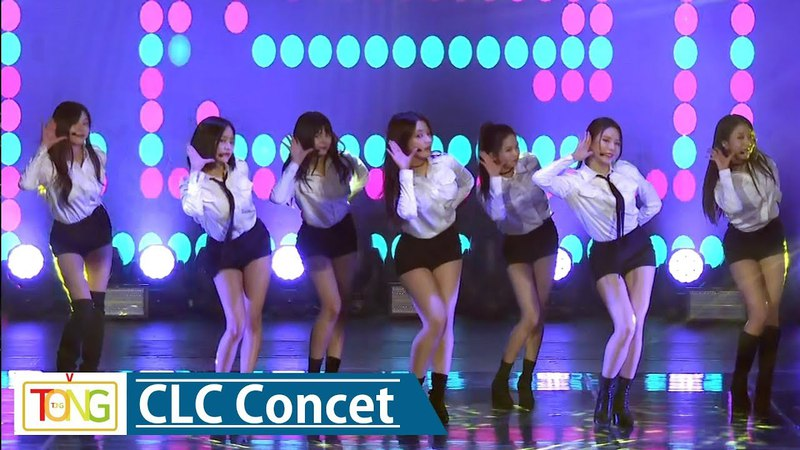 CLC(씨엘씨) 'Tell Me' Concert Stage -'BLACK DRESS' Charity Concert- (Wonder Girls, 원더걸스)