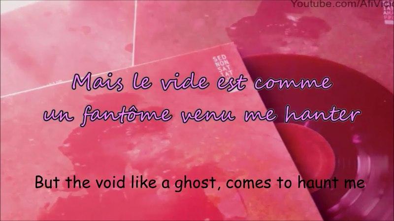 Sed Non Satiata - Ghost (LyricsFrEng)
