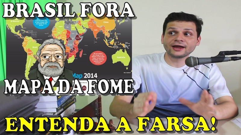 Lula tirou o Brasil do Mapa da Fome? Entenda a farsa!