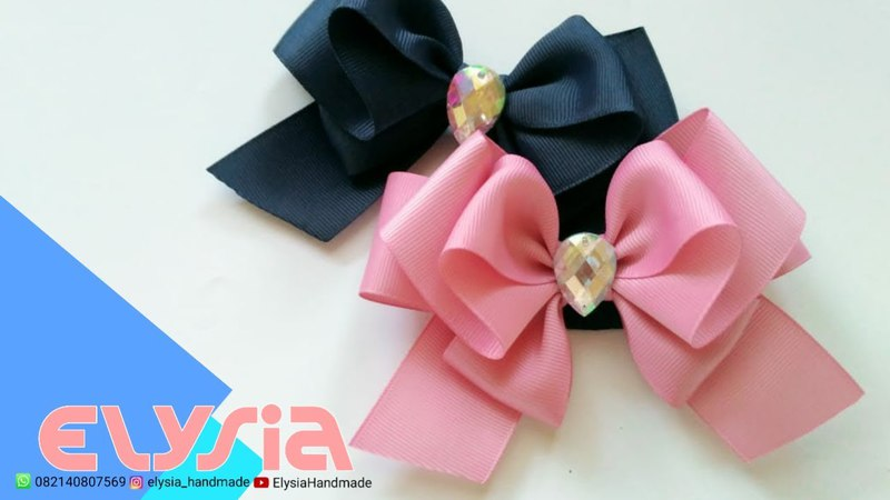 Laço Borboleta Part II 🎀 Butterfly Ribbon Bow 🎀 DIY by Elysia Handmade