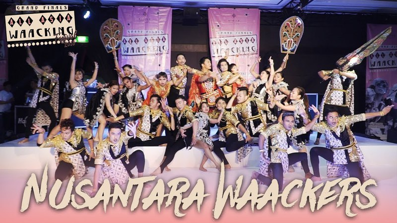 Nusantara Waackers (INA) | Showcase | AAWF 2018 Grand Finals Bali, Indonesia by Etoile Dance