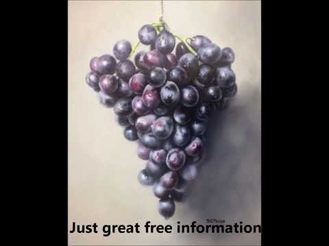 Oil Painting Techniques in how to paint grapes.
