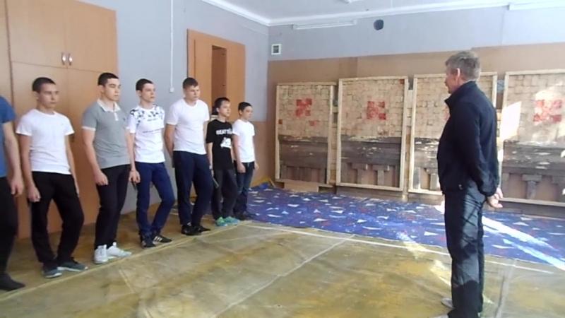 Открытое первенство Казани. По Спортивному метанию ножа