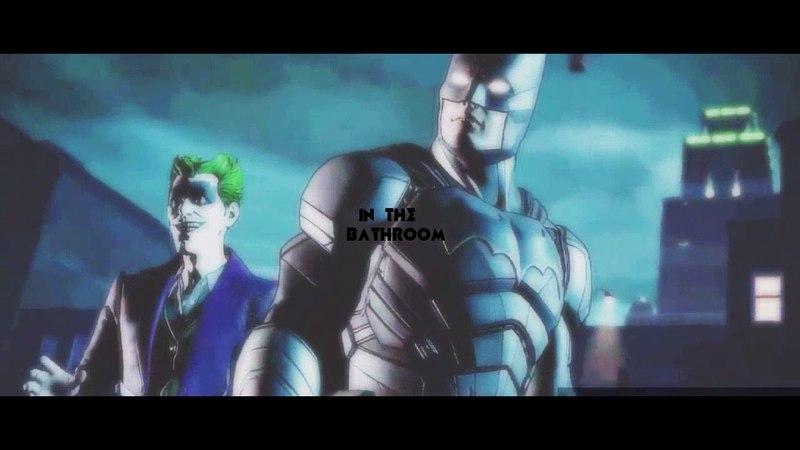 Hold on_ Bruce John Doe batjokes/ Batman telltale bff