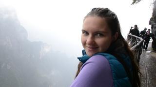 Ловим облачко на Тяньмэньшань в Китае