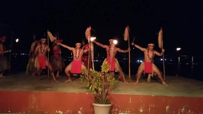 Огненное шоу на Гуаме
