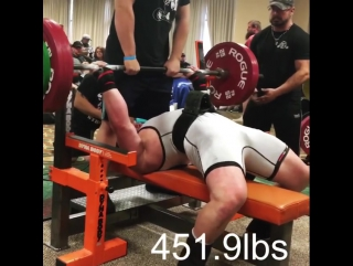 Эндрю Хаус - 927,5 кг в 110 в.к.