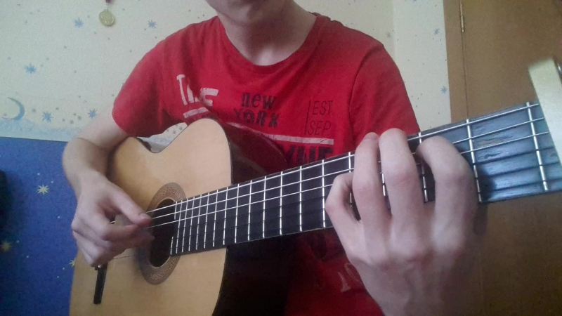 Green Day Boulevard of Broken Dreams classical guitar