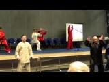 Фрагмент показательного выступления Учителей на открытии 20го Фестиваля внутренних искусств.