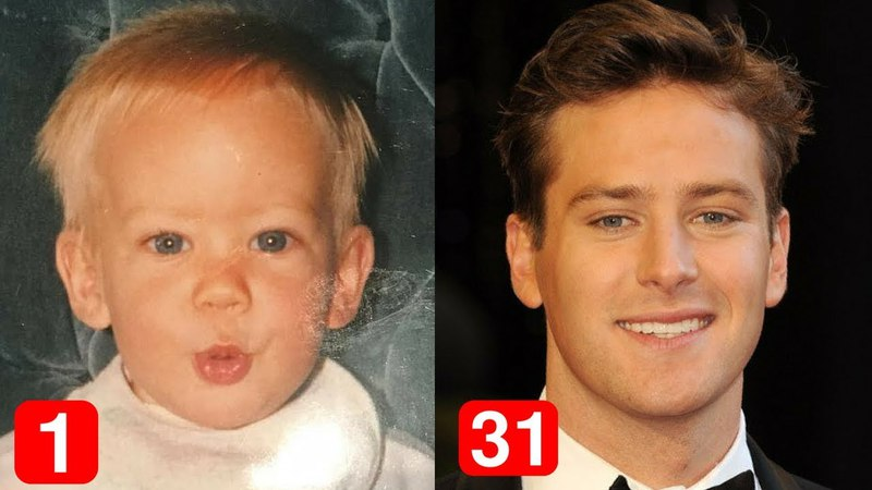 Armie Hammer - Transformation From 1 to 31 Years Old