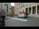 Demo gegen linken Terror auf dem Marktplatz in Halle