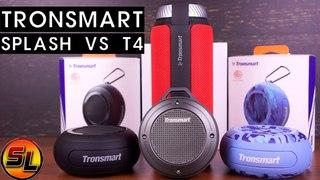 Tronsmart Splash vs Tronsmart T4. Выбираем лучшую компактную блютуз колонку!