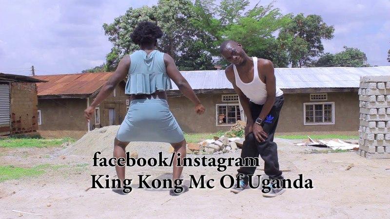 KING KONG MC OF UGANDA JR URSHER dancing to LIMIT by FATTA New Ugandan Comedy 2017