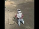Первые шаги на улице они такие