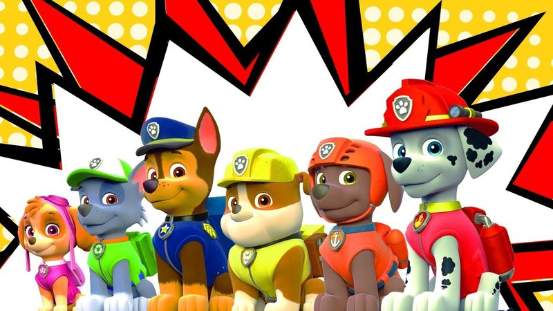 Paw Patrol Toys video for children