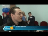 18_03_18 Сергей Безруков в Архангельске и голосует
