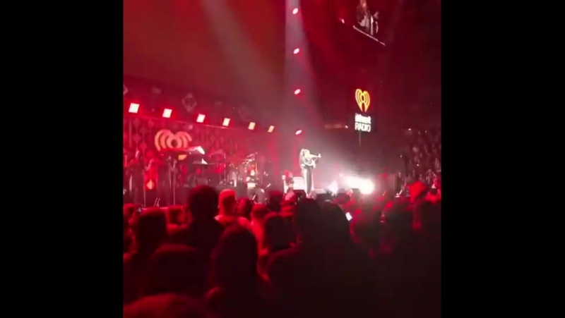 Demi Lovato performing Sorry Not Sorry at Power 96.1's JingleBall in Atlanta, GA