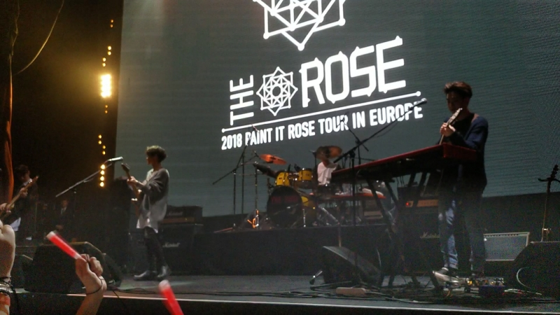 THE ROSE 2018 Paint It Rose Tour in Moscow 6