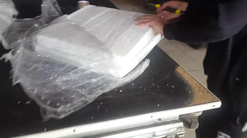 Тест упаковки жаропрочного стекла Robax