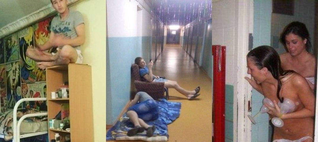 Порно в клермоне в общежитие