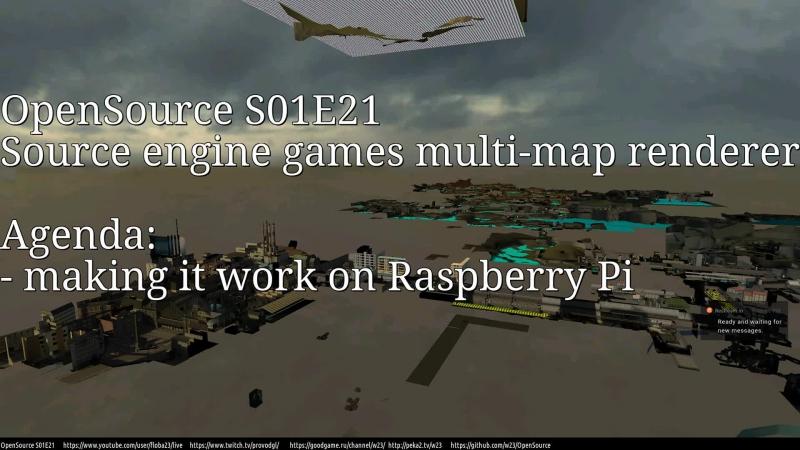 RU EN OpenSource S01E21 making it run on Raspberry Pi