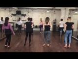 Kizomba женский стиль и техника с Анной Лагерь, школа танцев Держи Ритм