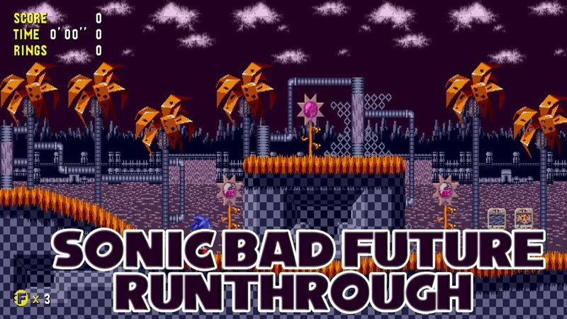 [TAS] Sonic: Bad Future Editions - Runthrough
