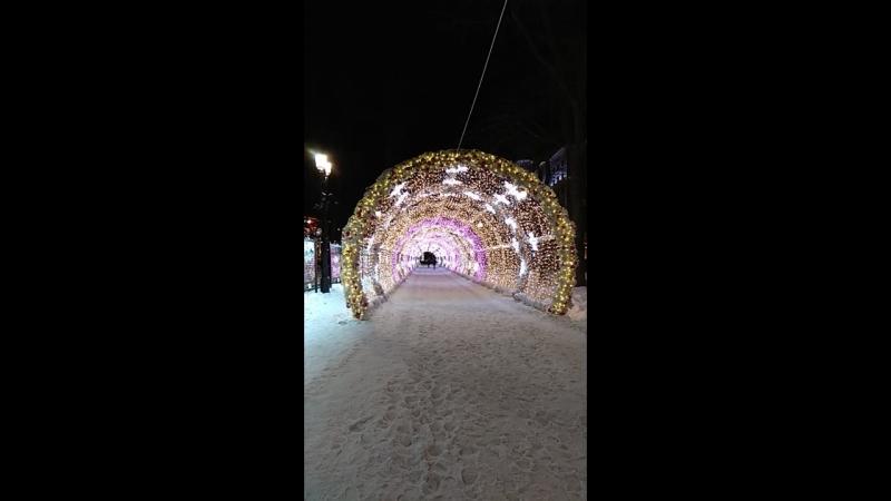 Вход в туннель
